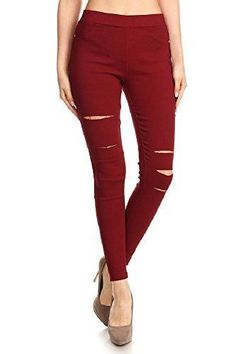 Colored skinny jeans under 10 dollars