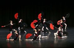 The Conlan College on stage at the 2013 Sydney Eisteddfod Dance of Champions