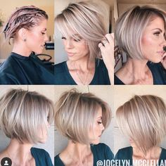 2020 Is The Year Of Beautiful And Changeable Pixie & Bob Hairstyles - Frisuren Hair Pixie Bob Hairstyles, Haircuts For Fine Hair, Short Bob Haircuts, Bob Haircuts For Women, Haircut Short, Bob Hairstyles For Fine Hair, Modern Hairstyles, Trending Hairstyles, Short Hair Trends