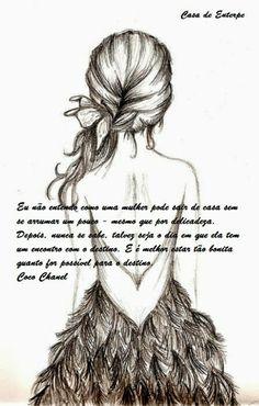 """Casa de Euterpe: """"Eu não entendo como uma mulher... - Coco Chanel"""