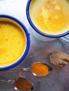 Goldene Milch - Kurkuma Latte - ° Verenas Welt °° Verenas Welt °