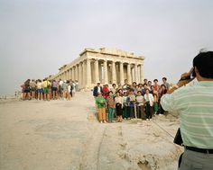 Bid now on Acropolis, Athens, Greece by Martin Parr. View a wide Variety of artworks by Martin Parr, now available for sale on artnet Auctions. World Photography, Photography Awards, Color Photography, Street Photography, Photography Books, Photography Magazine, Martin Parr, Magnum Photos, Small World