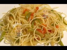 Pasta, Spaghetti, Ethnic Recipes, Youtube, Food, Ethnic Food, Deep Fryer, Cuisine, Sons