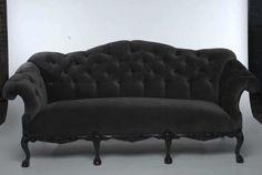 Found Vintage Rentals: Warner Grey Couch