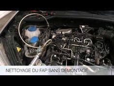 Nettoyage du filtre à particules (FAP) sans démontage ! Rapide et éfficace ! - YouTube