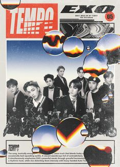 """exo style edits with their title tracks 💿"" Retro Graphic Design, Graphic Design Posters, Graphic Design Inspiration, 80s Posters, Kpop Posters, Poster Wall, Poster Prints, Hotarubi No Mori, Japon Illustration"