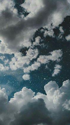 Tumblr Wallpaper, Wallpaper Pastel, Night Sky Wallpaper, Iphone Wallpaper Glitter, Cloud Wallpaper, Iphone Wallpaper Tumblr Aesthetic, Iphone Background Wallpaper, Aesthetic Pastel Wallpaper, Aesthetic Backgrounds