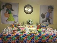 Caleb and Sophia Party... Always thinking of party themes... How adorable is this!