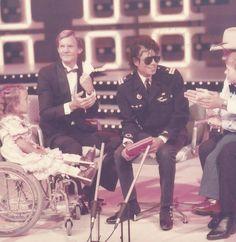 Michael Jackson à Perth (Australie) en octobre 1985