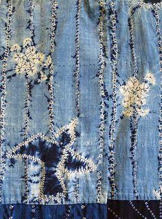 A Shibori Juban: Hand Spun Cotton and Botanical...