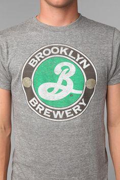 Brooklyn Brewery Logo Tee  #UrbanOutfitters #brooklynbrewery #beerbaconmusic