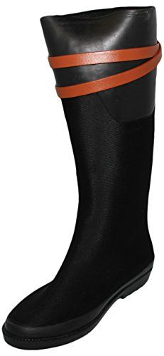 Henry Ferrera Womens Ambiance100 Tall Rain Boots Black 6 >>> Check out this great product.