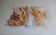 The Magic of Watercolour Painting Virtual Gallery - Jean Haines, Artist - Cats