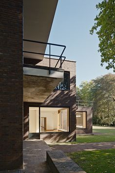 Villas House Ensemble Lange and Haus Ester, Krefeld, Germany by Ludwig Mies van der Rohe :: 1930