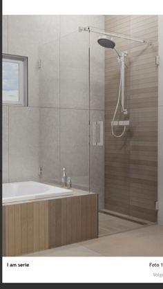 Douchewand kleine badkamer