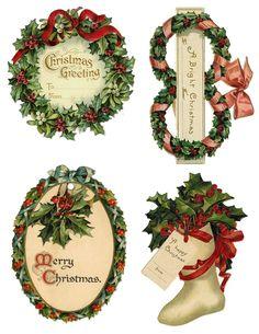 Free printable gift tags