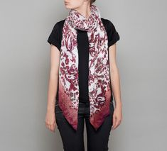 The Lola Rose Shop has an Autumn scarf collection, in luxuriously soft wool or silky viscose, features unique block and layered prints in subtle tonal or striking contrasting colour combinations. Purple Scarves, Fall Scarves, Lola Rose, Rose Shop, Rose Jewelry, Scarf Styles, Color Combinations, Shop Now, Unique