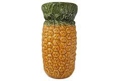 Ceramic Pineapple Umbrella Stand