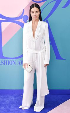Adriana Lima: cfda-fashion-awards-2017-red-carpet-arrivals