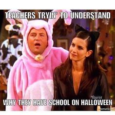 (Rp via – Winter Break Elementary Teacher, School Teacher, Funny Halloween Memes, Happy Halloween, Teacher Jokes, Teacher Stuff, Teaching Memes, Teaching Ideas, Classroom Humor