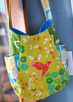 241 Tote - love the combination of fabrics