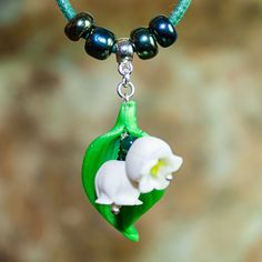 The Lily of The Valley Handmade Pendant Pagan Druid Celtic Christianity | eBay