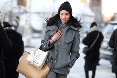 Below-Freezing NYC Street Style That's Still Fire #refinery29 http://www.refinery29.com/2015/02/82279/new-york-fashion-week-2015-street-style-pictures#slide-58