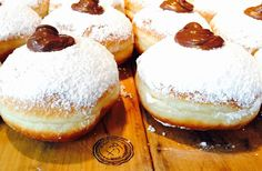 Nutella doughnuts in Melbourne? Oh yes, Melbourne Italian restaurant Pizzeria is serving up some delicious doughnuts, starting this week! Nutella Donuts, Doughnuts, Food Places, Places To Eat, Chocolate Lovers, Hot Chocolate, Melbourne Cafe, Nutella Recipes, Coffee Art