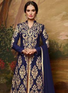 Opulent Navy Blue Banglori Silk Embroidered Lehenga Suit #navy blue #banglori silk #lehenga choli #ethnic #creation #embroidery #classic #cloth #clothing #bridal wear#jardoshi #work #chiffon #acteress #navel #desi #new #woman fashion #designersuit #bridal wear #glamour #quality #pakistanifashion #fashioninsta #wedding #wedding inspiration #loveself #ethnic wear #lastweekend #nice #mehendi #zirba #asianfashion