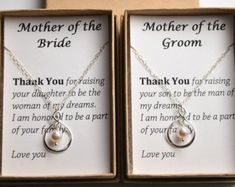 Set of 2 Mother of the bride-mother of the groom-Silver infinity necklaces-gifts for moms-Mother wedding fit-Mother in law-Wedding Jewelry Set Mutter der Braut-Mutter des Bräutigams-Silber Wedding Gifts For Bride And Groom, Mother Of The Groom Gifts, Gifts For Wedding Party, Mother Gifts, Gifts For Mom, Parent Wedding Gifts, Bride Groom, Grooms Mother Gift, Wedding Jewelry For Bride