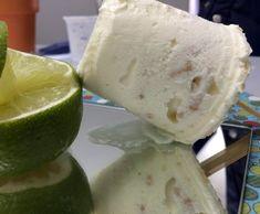 Sorvete de tortinha de limão fica com textura cremosa (Foto: Mais Você/Gshow)