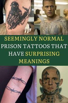 """In many countries, there is a long history of prisoners getting tattoos that often have crime-related meaning. Prison tattoos can be seen everywhere today as a lot of them became """"mainstream"""" and regular people get them. Often people don't understand their deeper meaning or the stories behind them, and when you go through this article you'll understand that it might be best that way. So grab a comfy pillow, sit back and check out these 40 prisoner tattoos and their surprising meanings! Natural Eye Makeup, Smoke Eye Makeup, Cochella Outfits, Haircuts For Medium Hair, Makeup Art, Base Makeup, Creative Eye Makeup, Bikini Poses, Daith Piercing"""