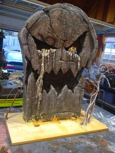 It hit me that it's not my style to be so secretive and teasing with my prop builds. I was at first because it was a gravestone making conte...