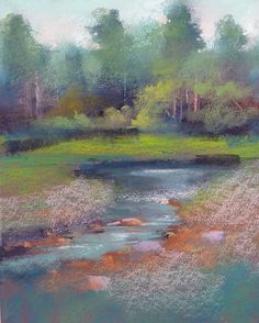 'Duke's Hideaway'    8x10     pastel     ©Karen Margulis  click here to purchase $145    Of all of the treasures in my recent p...