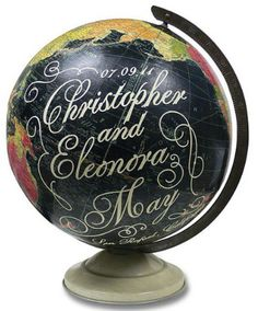 Globes Wedding Etsy Wendy Gold Globes on http://countrydesignhome.com/2013/08/06/global-studies/