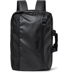 Master-Piece - Slick Waterproof Rubberised-Leather and CORDURA Convertible Bag