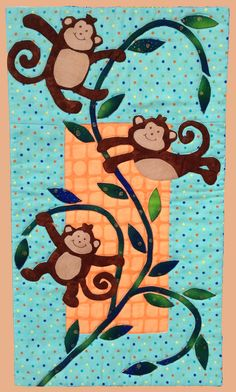 monkey quilt pattern - Google Search