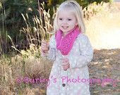 PDF CUTE Crochet Infinity Scarf Pattern for Women and Children.