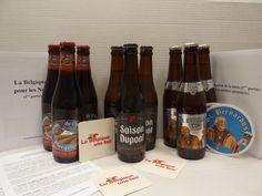 """Nos bières du mois pour profiter des derniers rayons de soleil de l'été : St Bernardus witte, Saison Dupont, Queue de charrue brune Dans notre """"ABONNEMENT BIERES DU MOIS"""" pour 21 € par mois"""