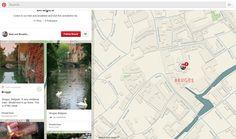 Google Maps gebruiken als achtergrond, origineel idee! http://www.pinterest.com/debleker/bruges/