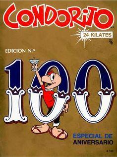 Condorito #100 Aniversario Nostalgia, Santiago Chile, Cartoons, Ebay, El Diablo, Good Times, Entertainment, Cartoon, Animated Cartoons