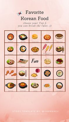 Bingo Template, Food Template, Templates, Food Captions, Instagram Story Questions, Instagram Games, A Love So Beautiful, Food Challenge, Instagram Story Template