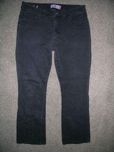 7919e051 Nine West Womens Slim Boot Cut Jeans Size 12 31 Dark Gray Denim Soft  Stretch New with tag