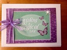 Wishing you a magical day card.