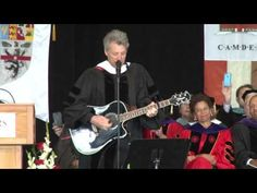 WATCH: Bon Jovi writes, performs song for Rutgers-Camden class of 2015: 'Start your own revolution' - YouTube
