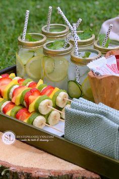Kids Summer Activities - Healthy Snack Tray