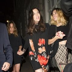Kate Moss and Liv Tyler look worse for wear after Dave Gardner's birthday party