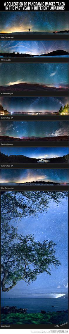 Night Panoramics…
