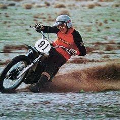 HONDA for a man's ride. Steve McQueen & Elsinore CR Honda 250M Pinned from https://fbcdn-sphotos-c-a.akamaihd.net/hphotos-ak-prn2/220068_120949054650814_1572448_o.jpg