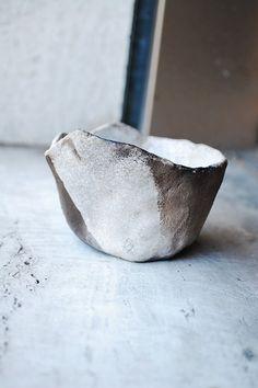 Ciotola in ceramica raku semirefrattaria di VvArtCo su Etsy